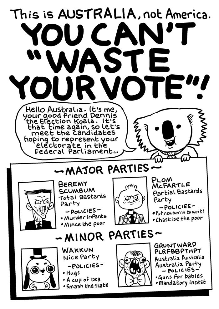 you can u2019t  u2018waste your vote u2019   u2013 patrick alexander u0026 39 s